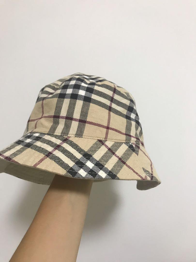 c3bbcf6b3 BURBERRY VINTAGE BUCKET HAT, Men's Fashion, Accessories, Caps & Hats ...