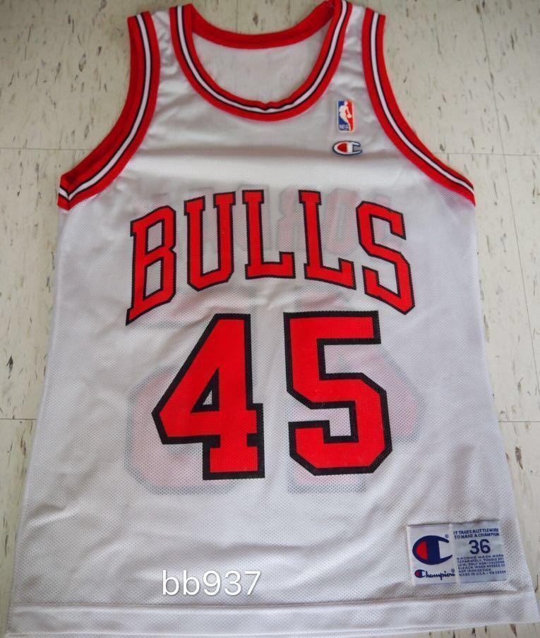 reputable site 9c4dd 2519e Champion Michael Jordan Chicago Bulls NBA Jersey