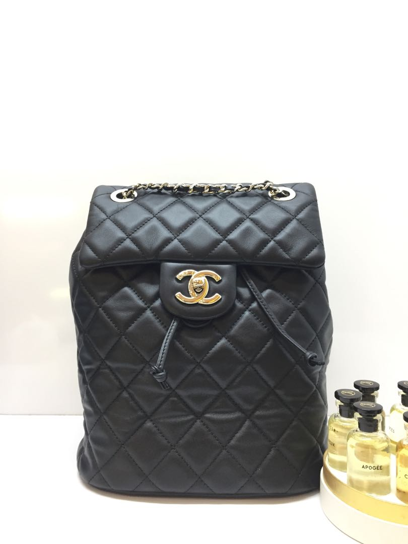 6c20355cc0baa3 Chanel, Luxury, Bags & Wallets, Backpacks on Carousell