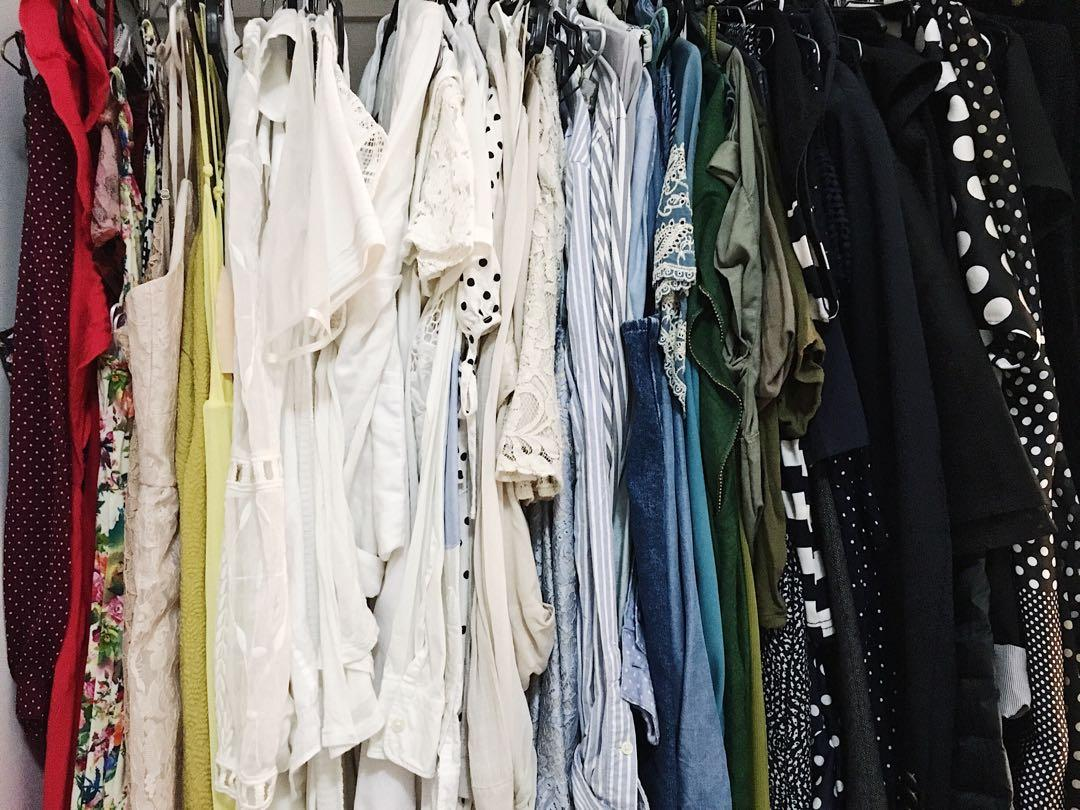 Clothing sale! Heavily discounted. At Newtown Markets 6 April 10am-4pm