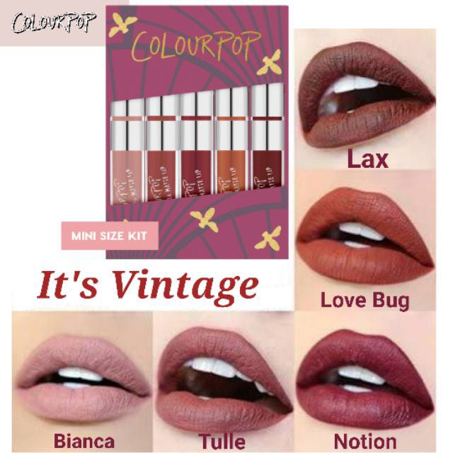 9b07cfe0dbd4 Colourpop It's Vintage, Health & Beauty, Makeup on Carousell