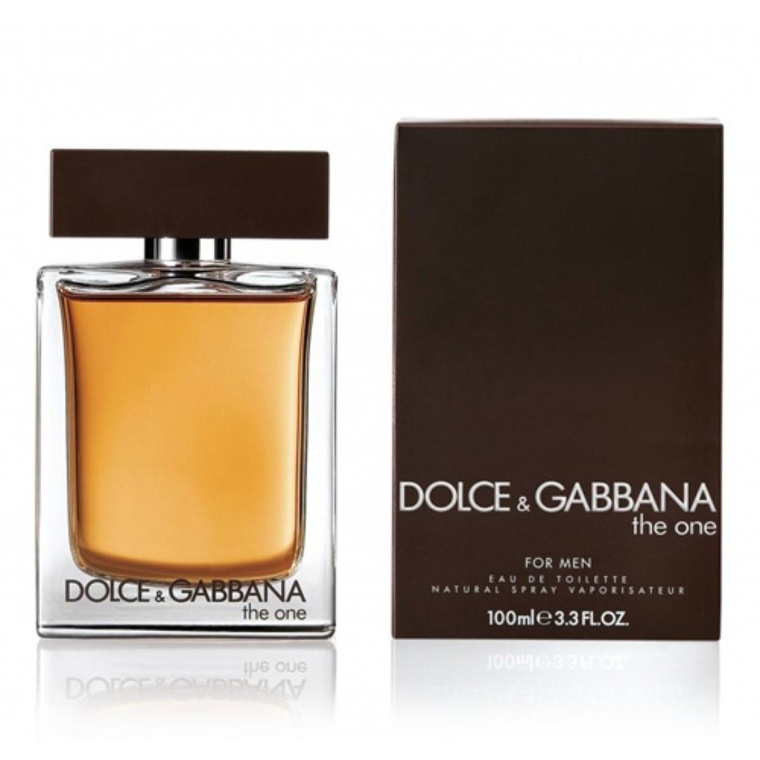 D&G The One EDT for Men (50ml/100ml/Tester/1.5ml Vial) Dolce & Gabbana