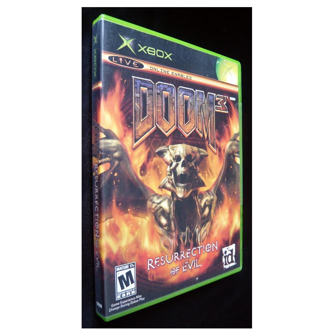 Doom 3: Resurrection of Evil Xbox Game (NTSC-U/C)
