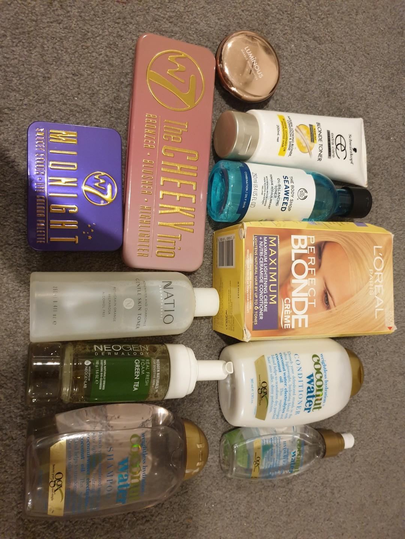 EVERYTHING $5 (skincare, haircare, makeup)