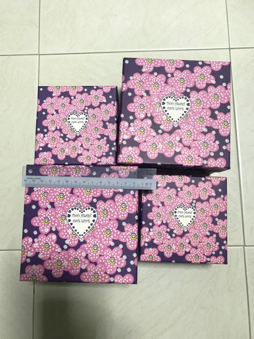 Flowery Gift Boxes Good Quality