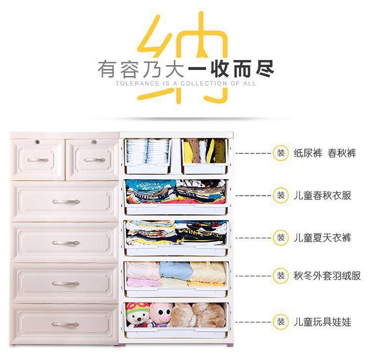 Free Delivery! Brand New Euro 5 Tiers Design Cabinet Drawers