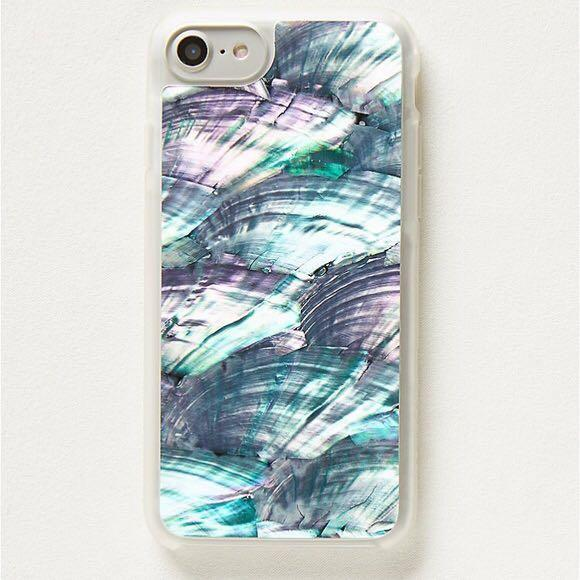 Free People IPhone case Abalone Shell iPhone 7+, 6+