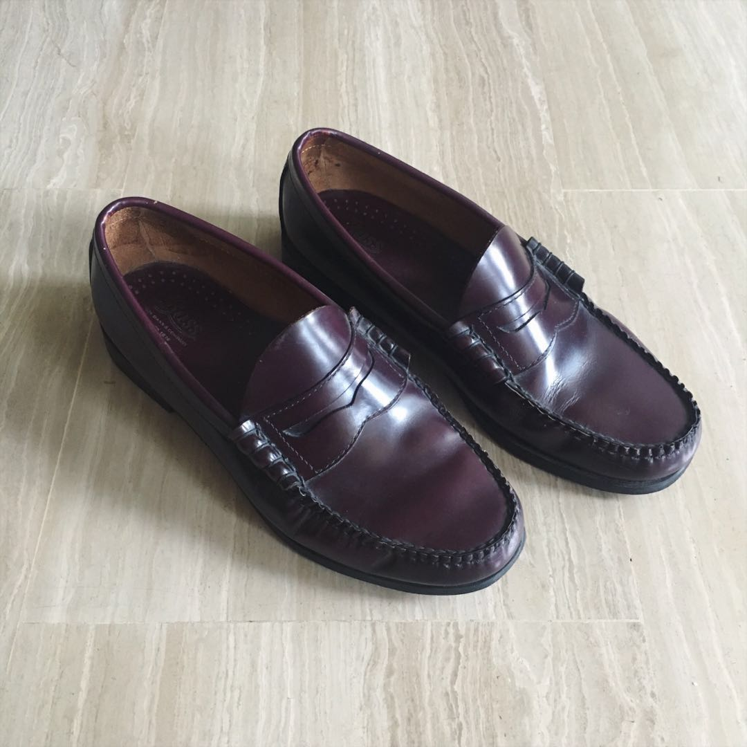 885de35dc88 G.H. Bass   Co Larson Weejuns Penny Loafers in Burgundy