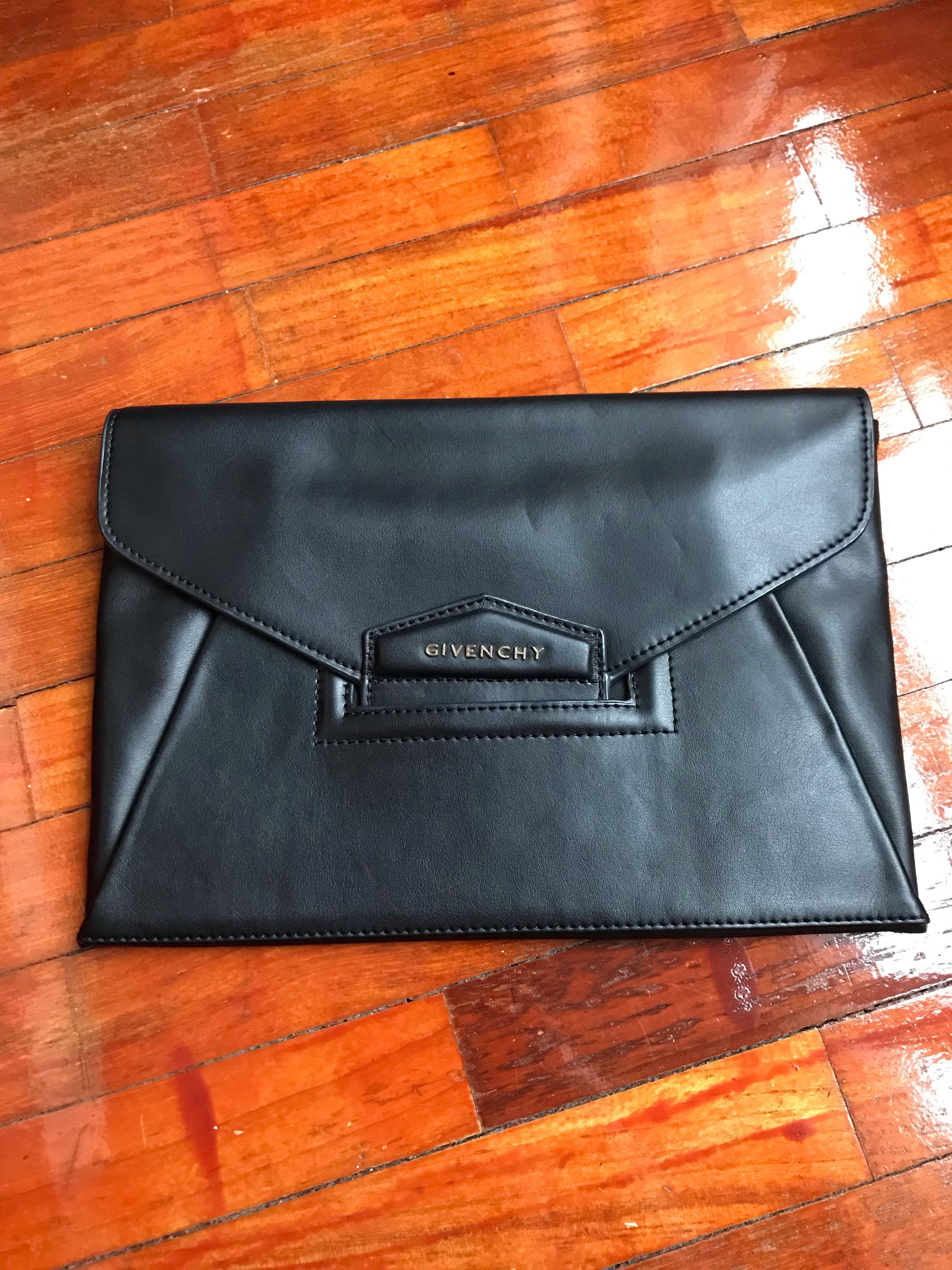 8ef91f2bb4 Givenchy Antigona clutch, Women's Fashion, Bags & Wallets, Clutches ...