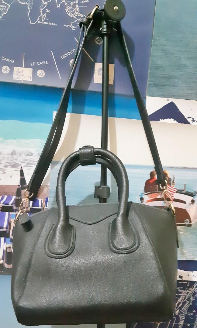 Hubsch Black Bag