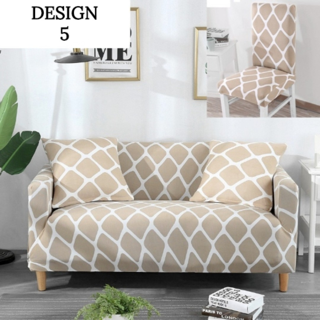 Design 5 Sofa Cover Furniture Home Decor Cushions Linen On