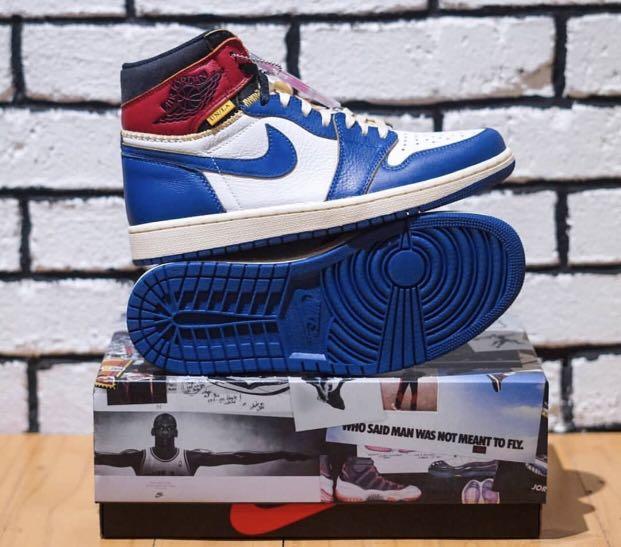 1868342bceb JORDAN UNLA BLUE TOE, Men's Fashion, Footwear, Sneakers on Carousell