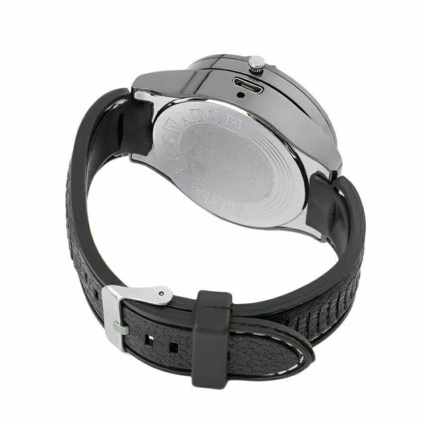 Lighter Watch Windproof Casual Military Quartz Watch USB Cigarette Cigar Flameless Lighter Cigarette Watch