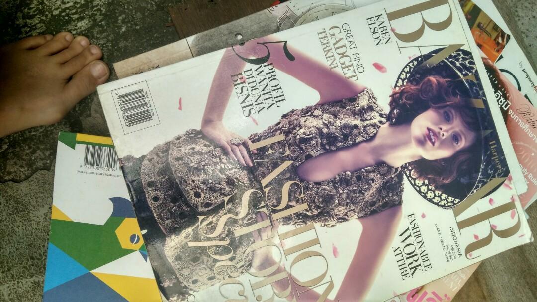 Majalah Harpers Bazaar Indonesia #prelovedwithlove