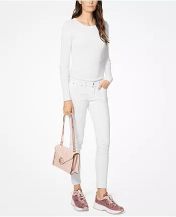d965e3d1a389 ❤️Michael Kors Whitney Large Petal Quilted Leather Convertible Shoulder Bag