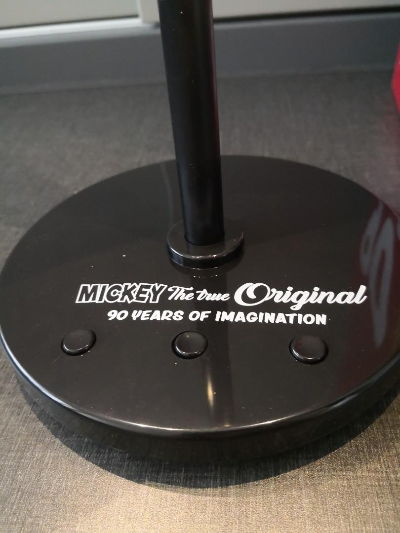 全新未開Mickey Mouse 造型 90 anniversary Led 燈
