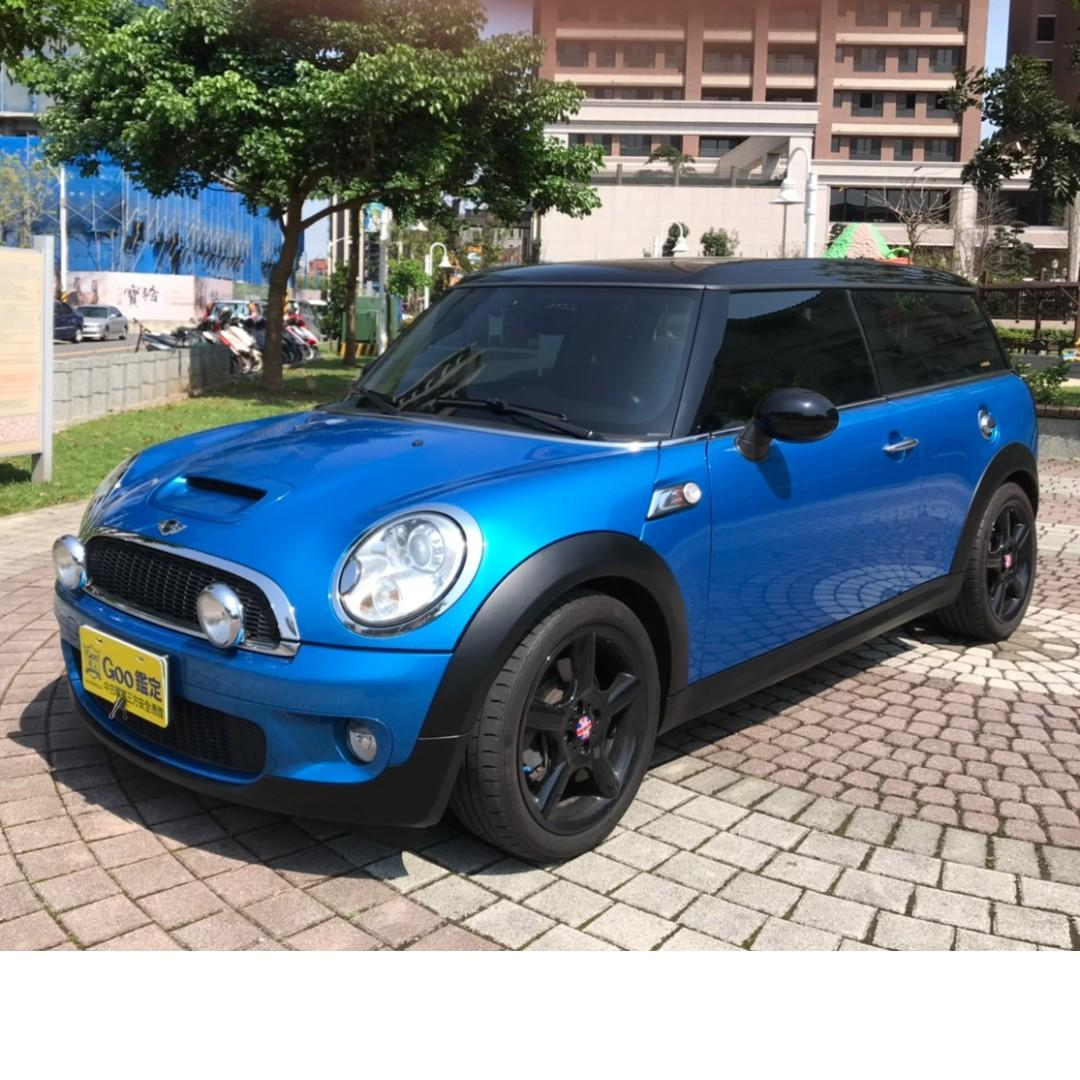 MINI R57CLUB MANS 2010年藍黑