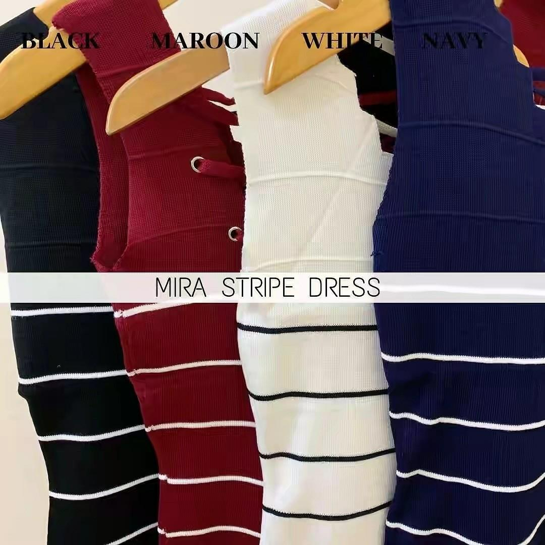 MIRA STRIPE DRESS