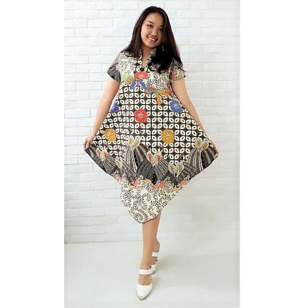 Modern Batik Dress Dr010 Women S Fashion Clothes Dresses Skirts