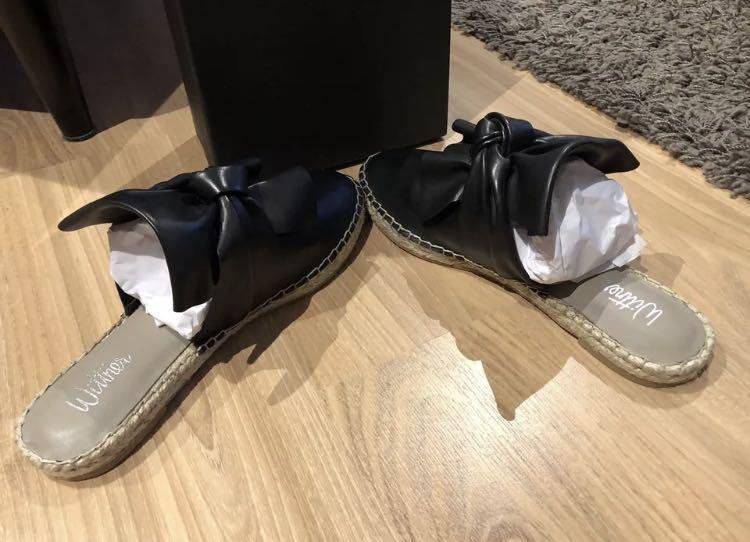 New Wittner Etna Mule Slippers Nappa Leather Size 37