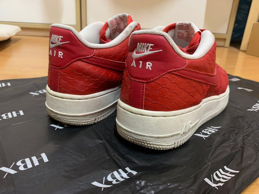 Nike Air Force 1 Low LV 8 Croc Red EURO 38.5