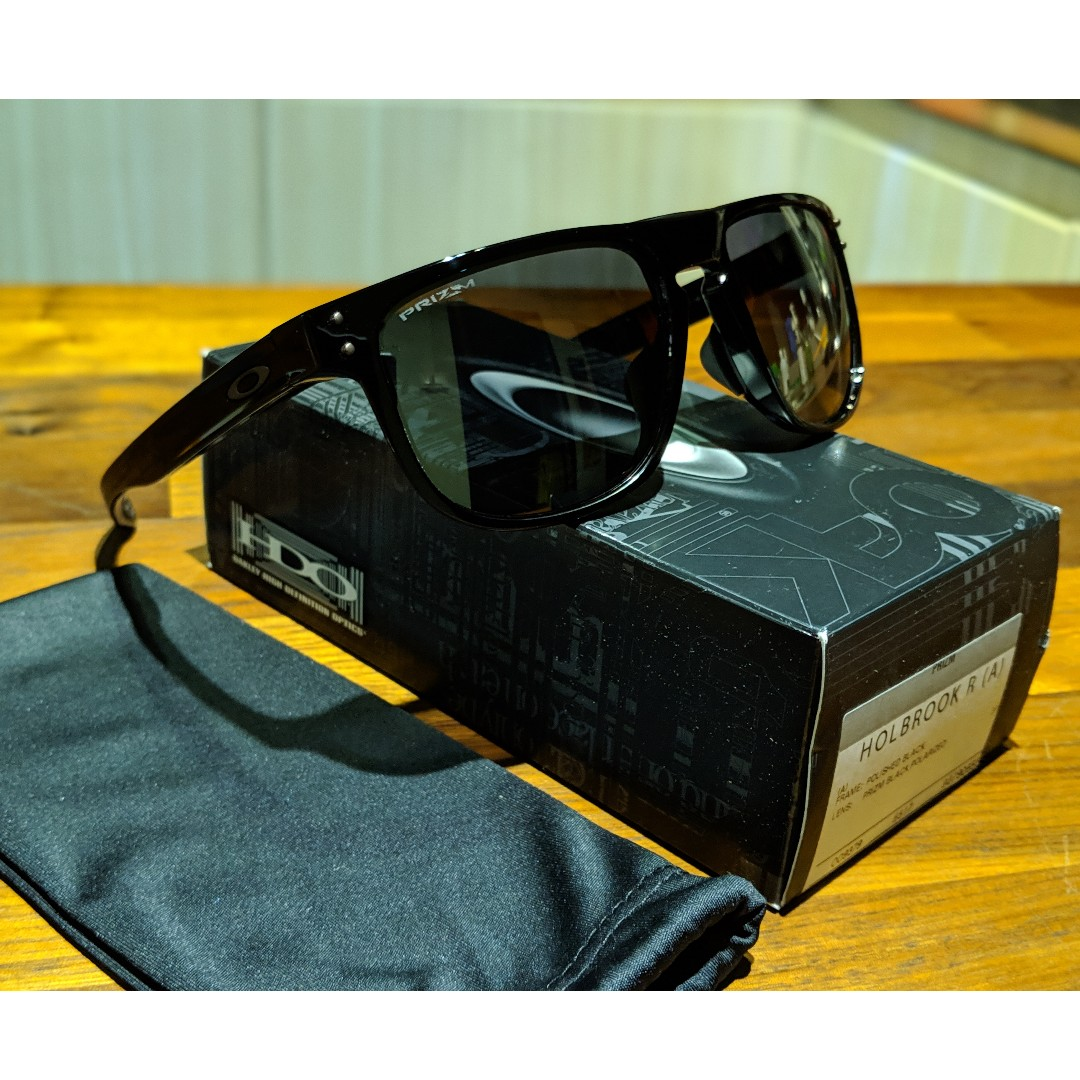 9dacce852cd71 Oakley HOLBROOK R (Asia Fit) Sunglasses • PRIZM Black Polarized Lens ...