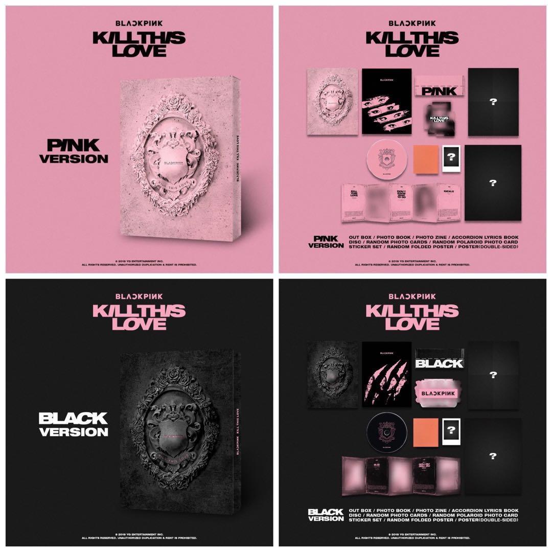 PRE ORDER 'BLACKPINK 2ND MINI ALBUM' KILL THIS LOVE