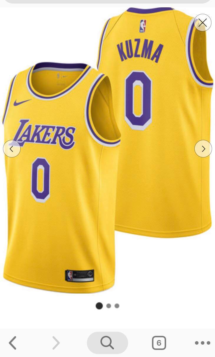 info for 4a14f f9b96 Presale-Los Angeles Lakers Nike Icon Swingman Jersey - Kyle Kuzma