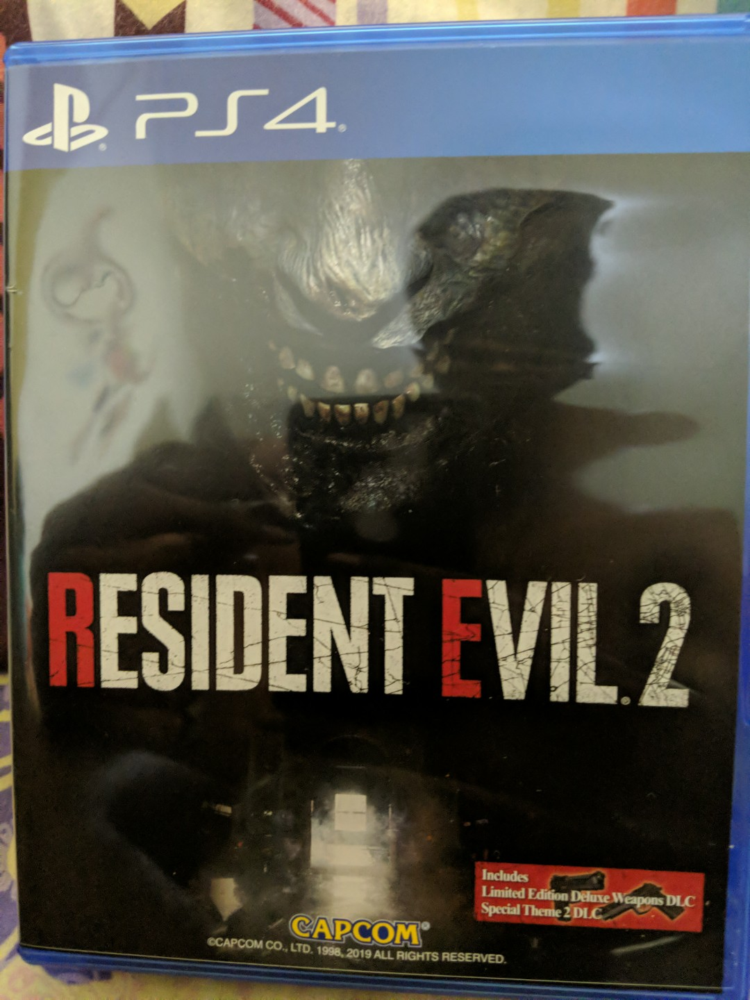 resident evil 2 ps4 deluxe edition