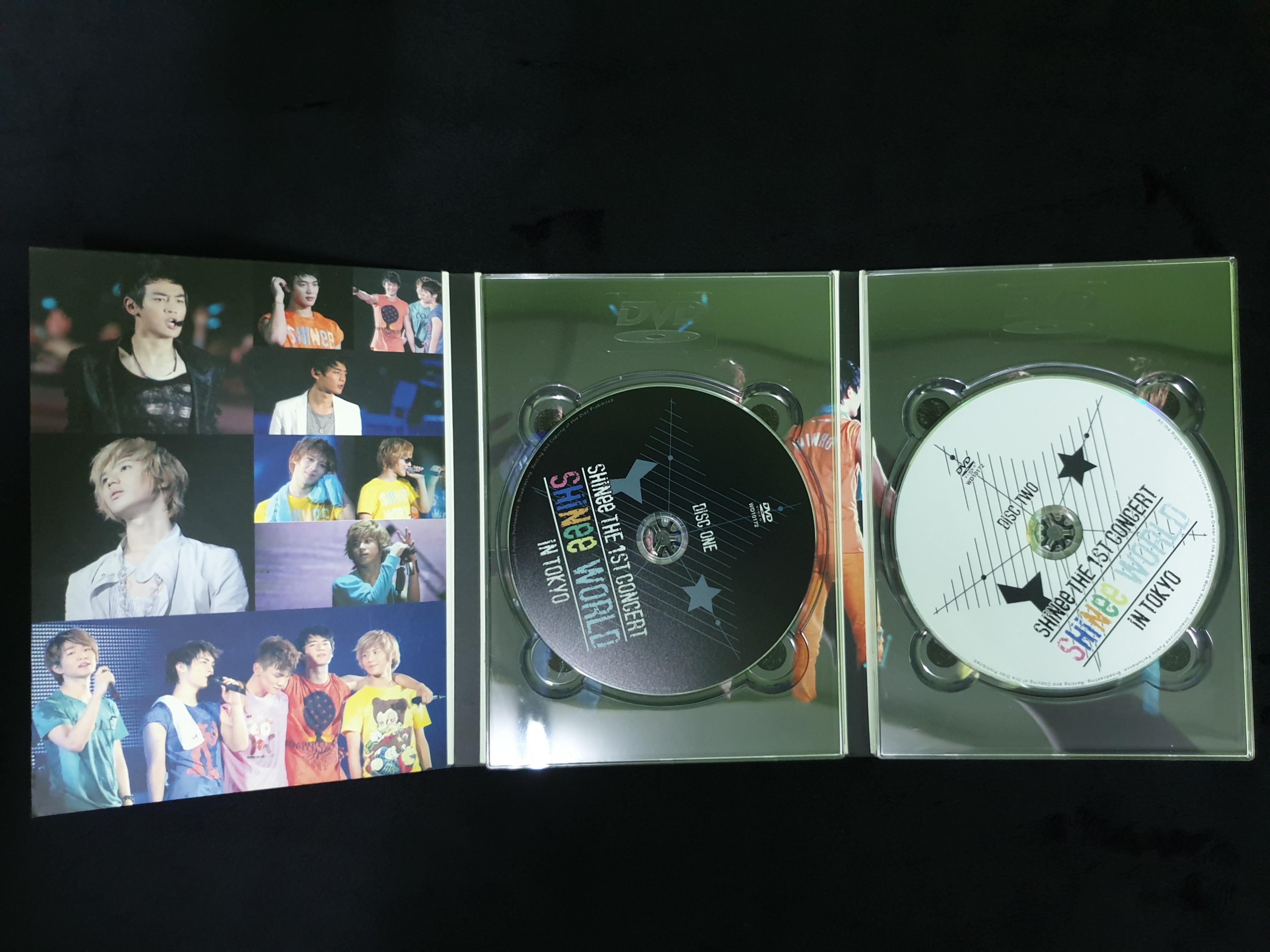 SHINee The 1st Concert 'SHINee World' in Tokyo DVD