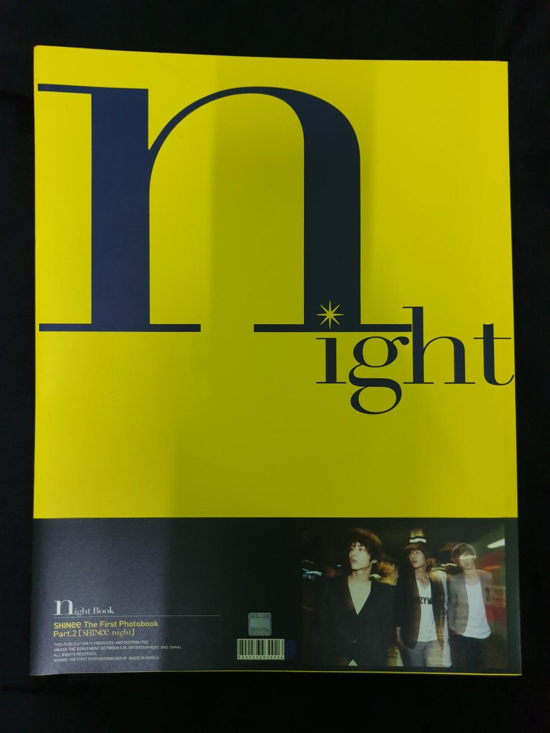SHINee the 1st Photobook Part. 2 [SHINee night] + DVD