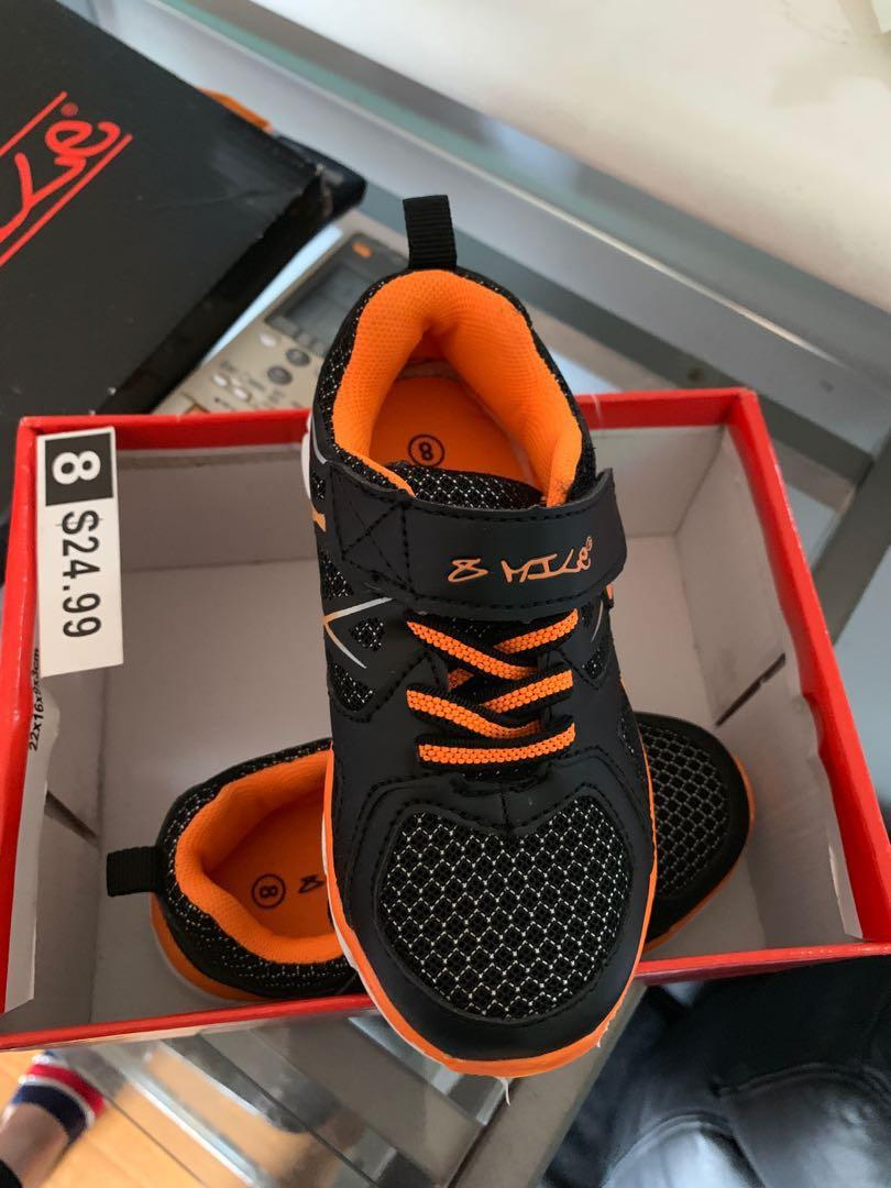Size 8 kids shoes