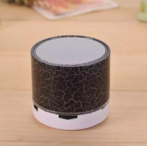 Speaker aktif mini bluetooth, ada lampu led, menggunakan micro SD