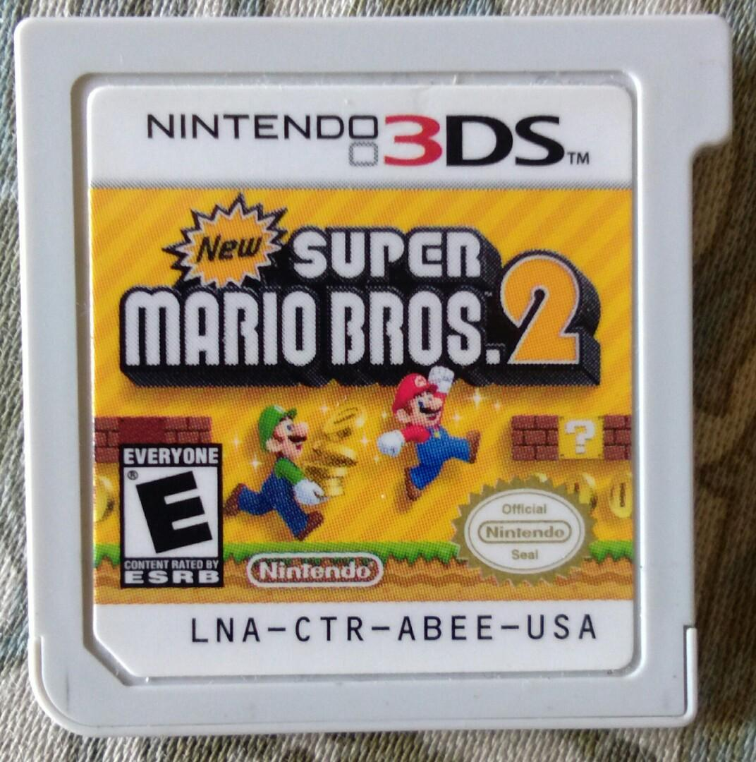 Super mario bros 2 3 ds game on Carousell