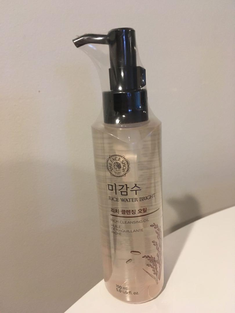 The Face Shop Rice Water Bright Cleansing Oil (Rich)