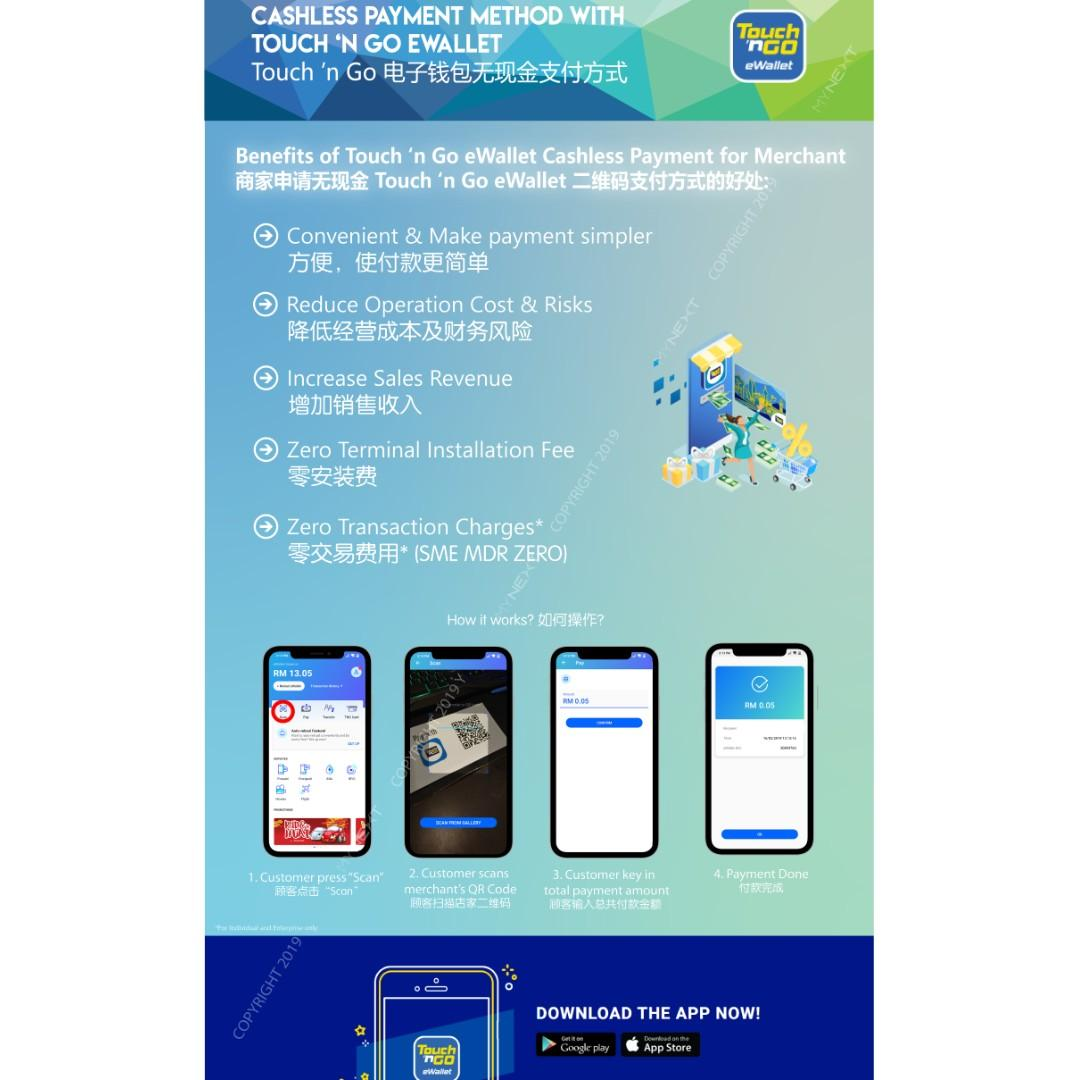 Touch N Go Ewallet Merchant Sign Up Service Services Others On Carousell