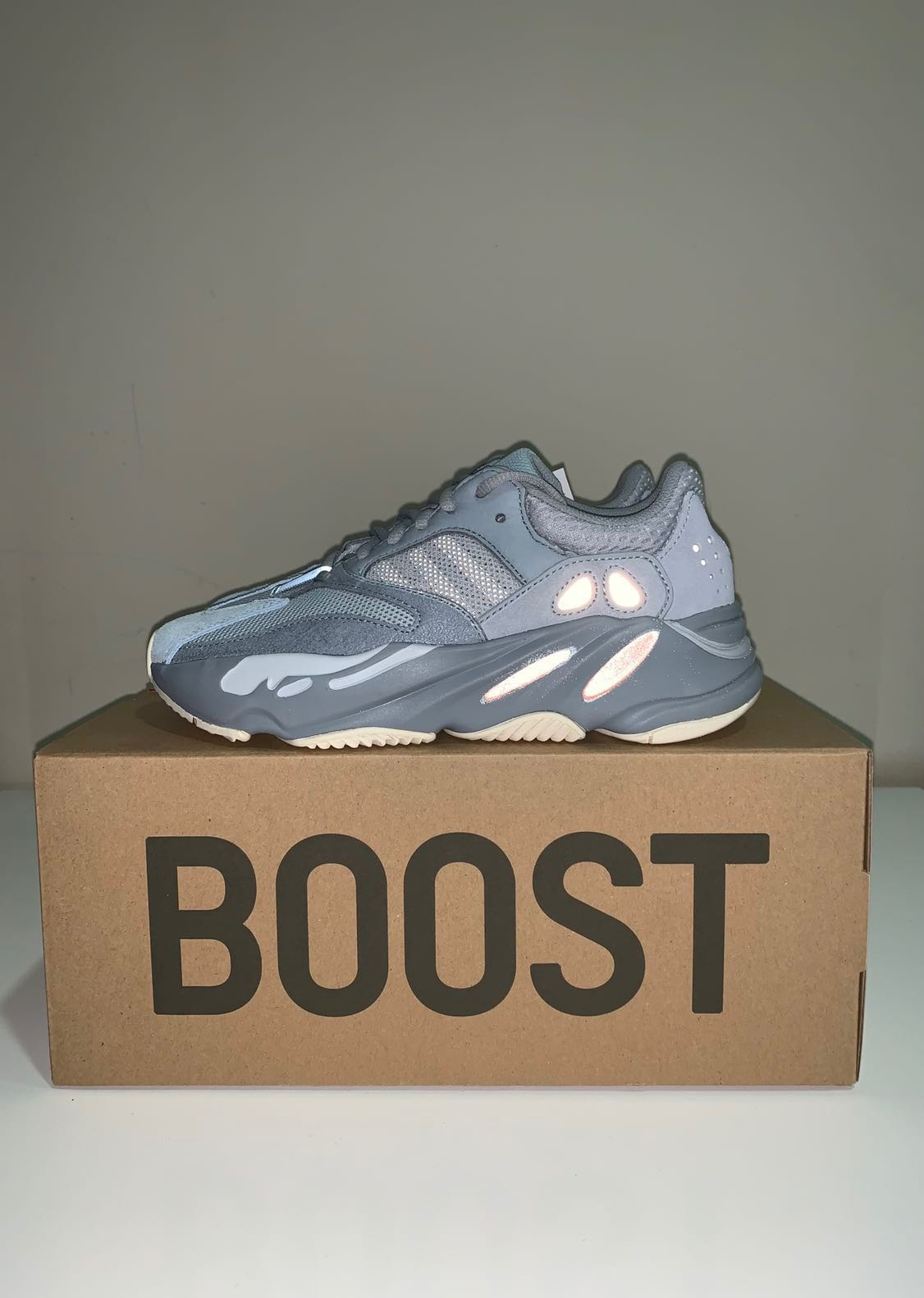 21cee6fc43c UK4.5 adidas Yeezy Boost 700 Inertia