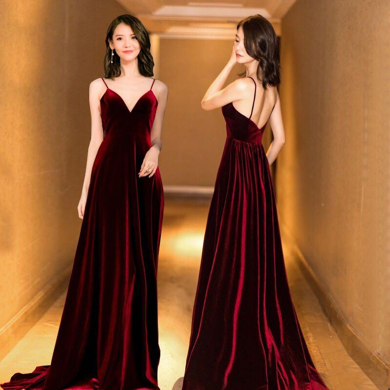 0552e9130f3 Velvet Maxi Dress