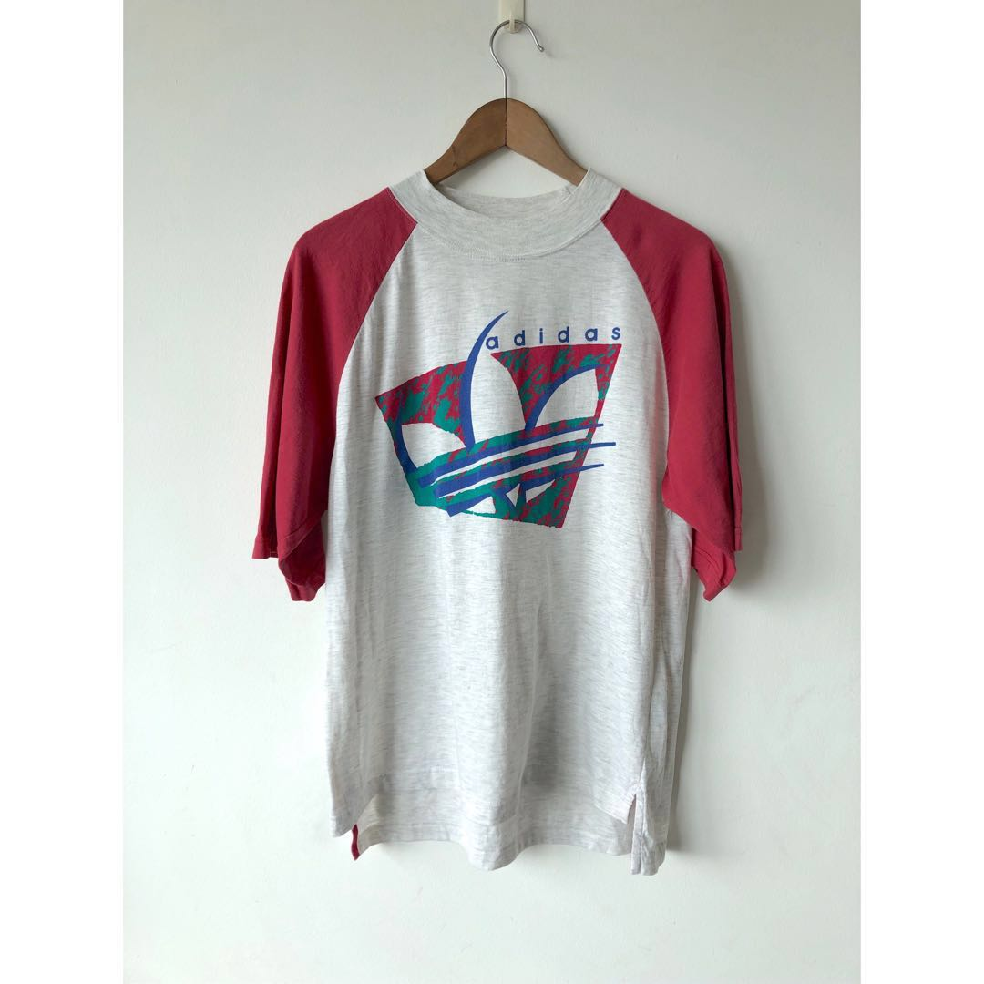 9a64fa131c4a3 Vintage 80s Adidas Size M Tee T-Shirt