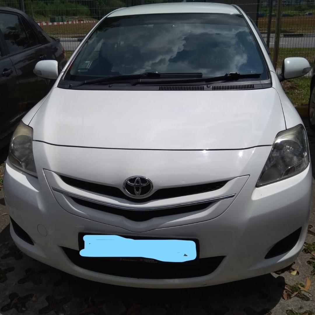Weekend/Weekly/Monthly Toyota Vios ( Personal-Grab-Gojek )