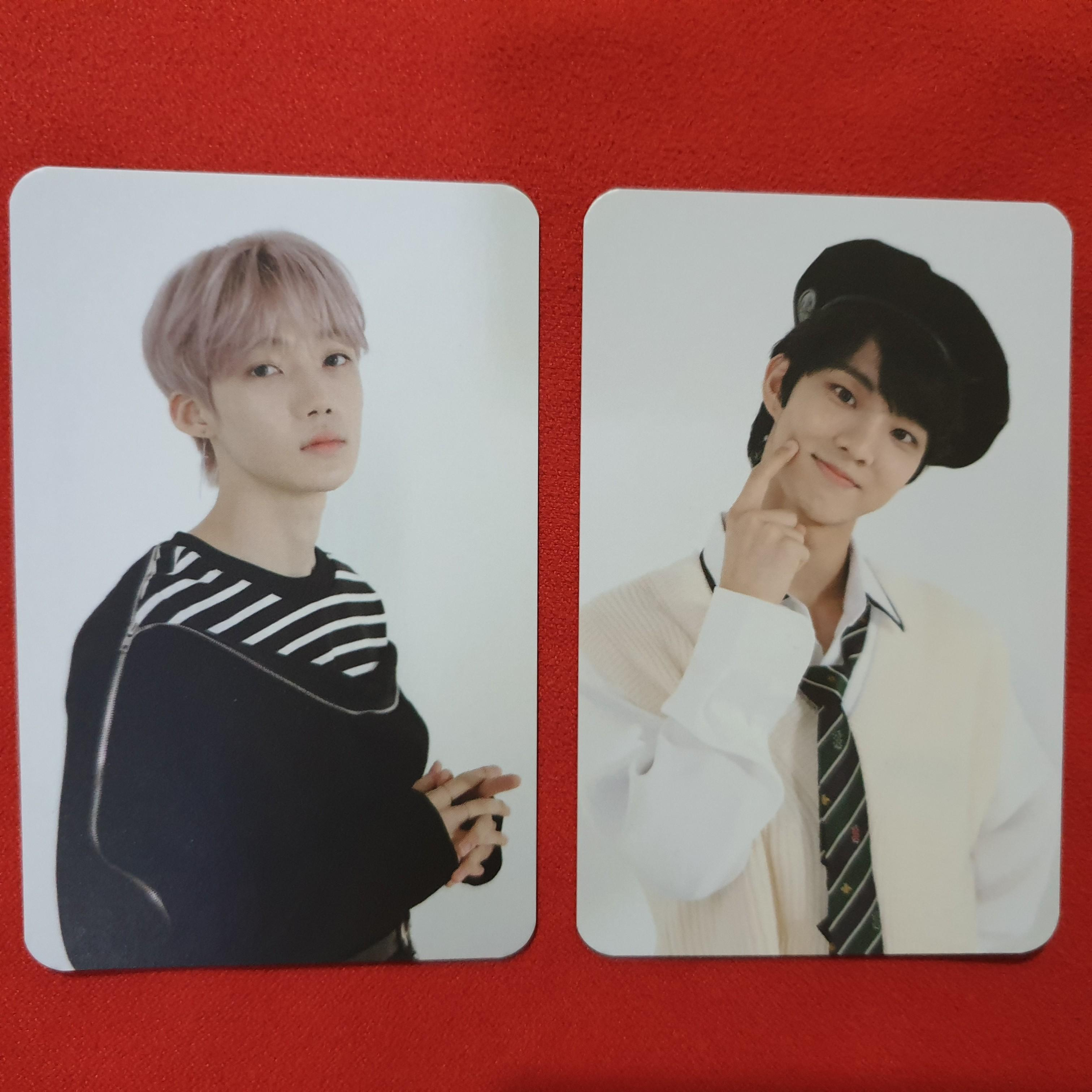 [WTS] THE BOYZ OFFICIAL PHOTOCARD THE ONLY COMEBACK  SHOWCASE