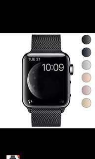 BRG Apple Watch Milanese Loop (42/44mm) Black