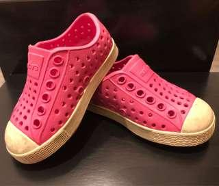 Native Pink Kids Shoes