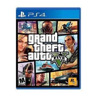 PS4 GTA V (日本版)