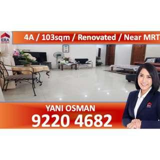 Renovated 4A Unit In Bishan For Sale!!!