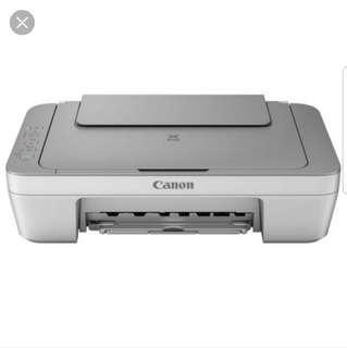 Canon MG2470 printer scanner photocopier
