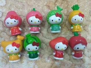 Hello Kitty Fruit Figurines #APR10 #SNAPENDGAME