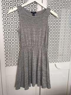 Gap kids gray scoop neck sleeveless dress