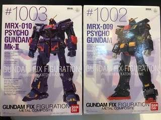 Gundam Fix 1002 & 1010