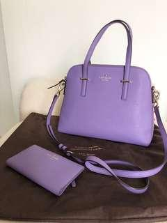 Kate Spade Maise Bag and Stacy Wallet
